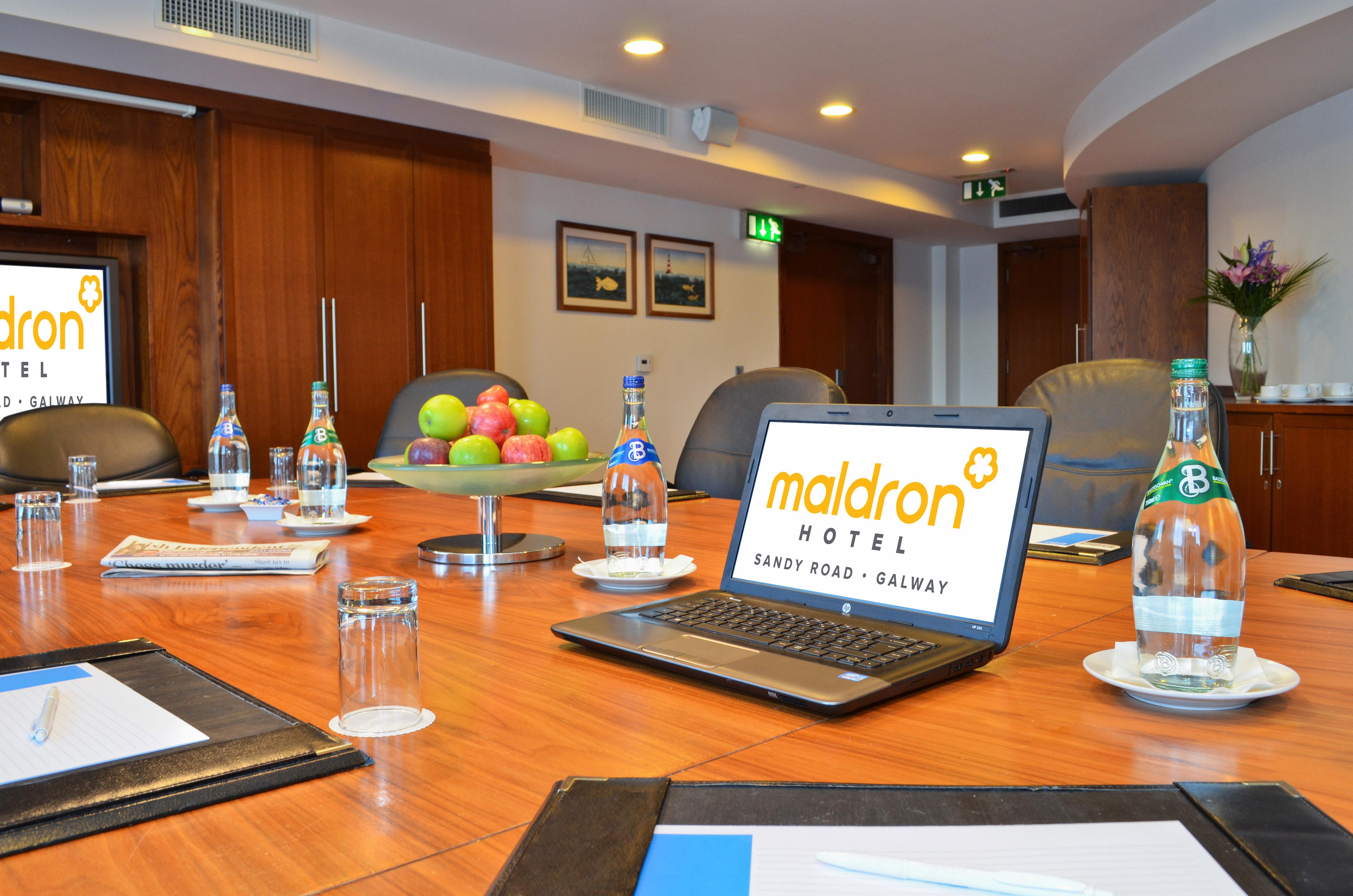 Executive-Boardroom-meeting-in-Maldron-Hotel-Sandy-Road