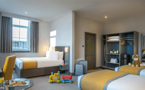 Family Rooms in Galway Hotel