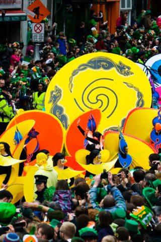 St. Patricks Day Parade Dublin
