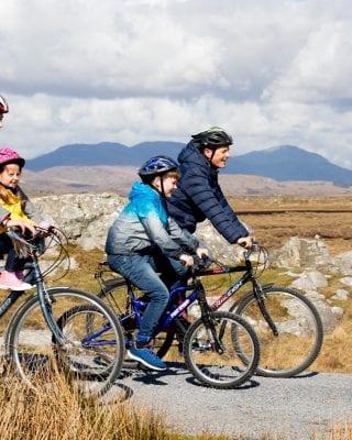 Guests of the Maldron Hotel Sandy Road enjoying a bike ride.